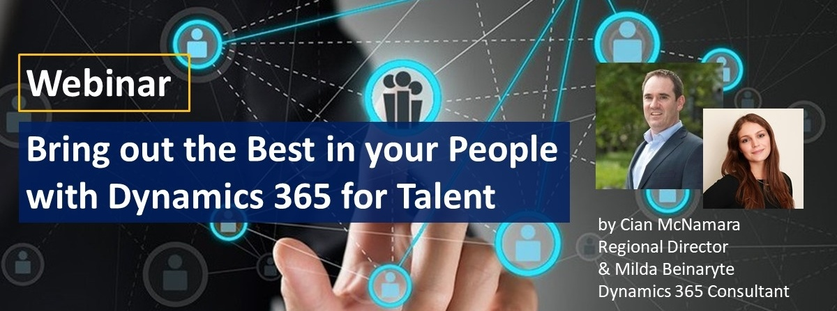 Bring out the Best in your People with Microsoft Dynamics 365 for Talent Webinar
